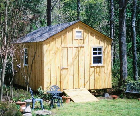 Shed kits for sale canada storage sheds 8 x 12 hopkins for Board and batten shed plans